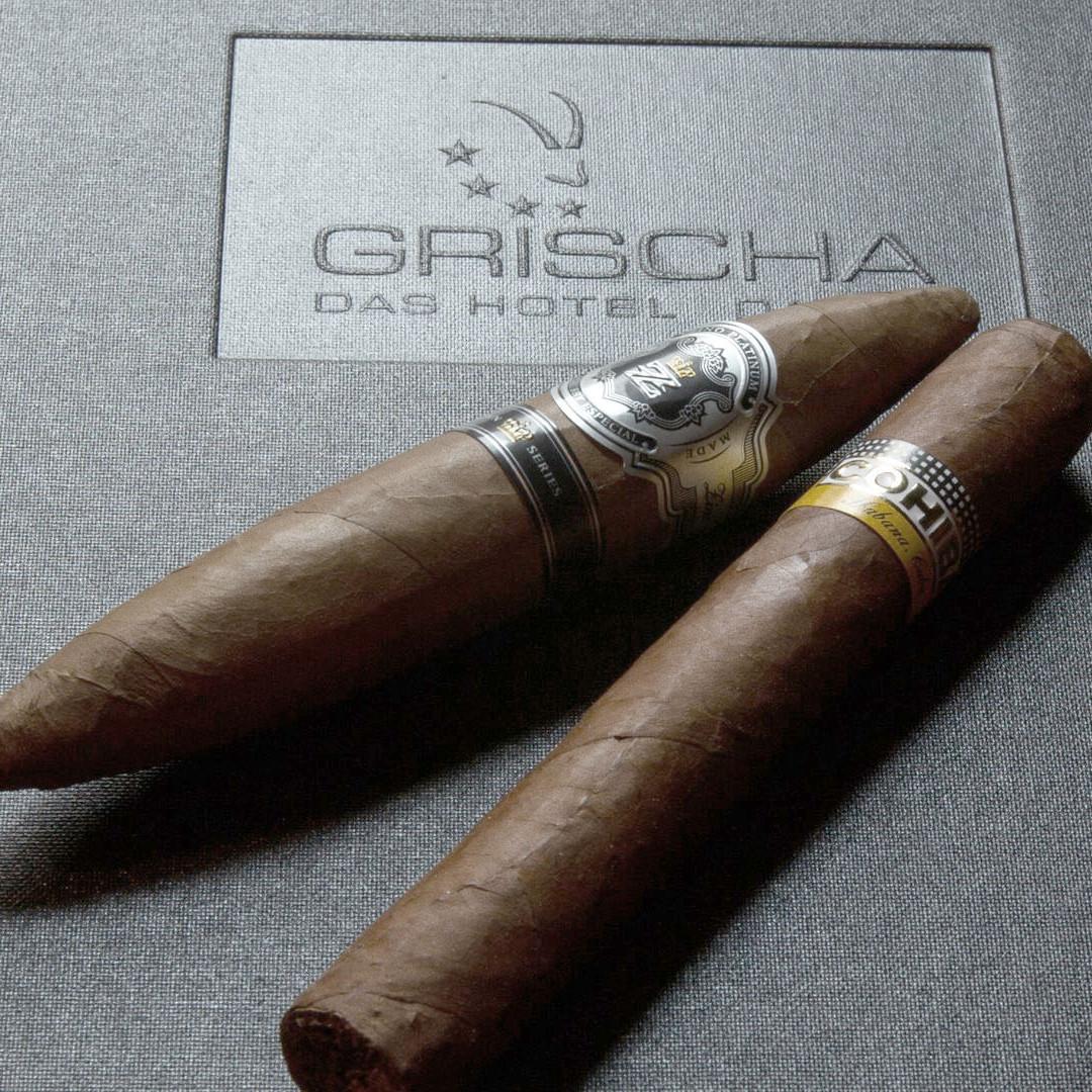 Zigarren in der Zino Platinum Cigar Lounge