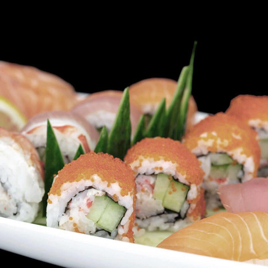 Sushi im Leonto Sushi and more